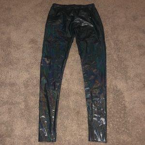 Reflective black pants